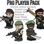 Mini Militia unlocked pro pack