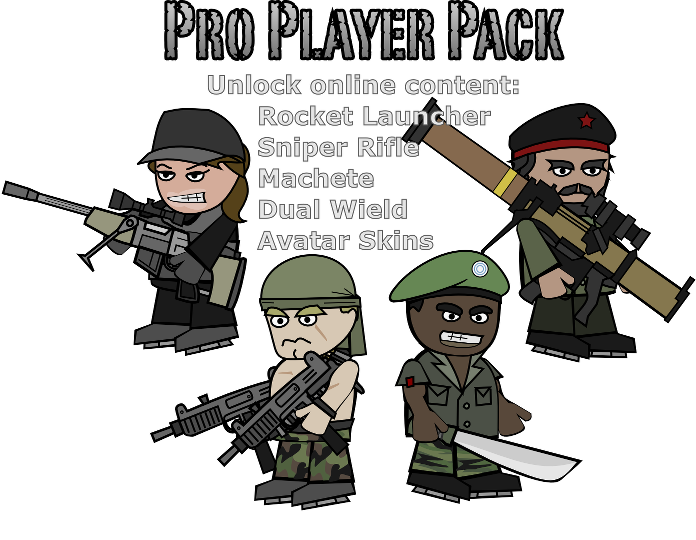 Mini Militia MOD latest 5.0.1 - Pro Pack Unlocked [apk]