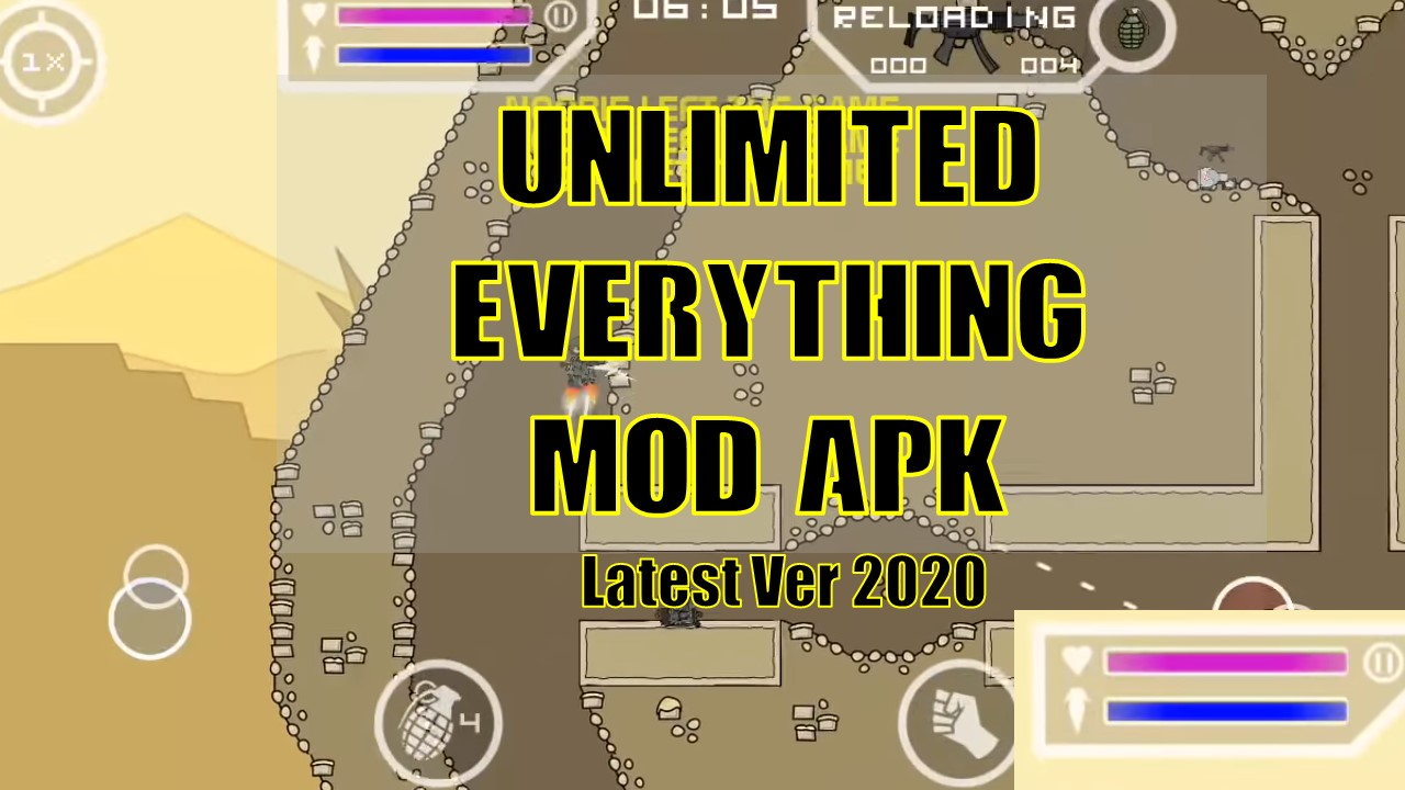Top Mini Militia mod: Unlimited everything APK (2020 Edition)