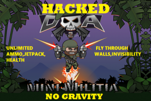 Mini Militia Hacked Version | Unlimited Powers loaded!